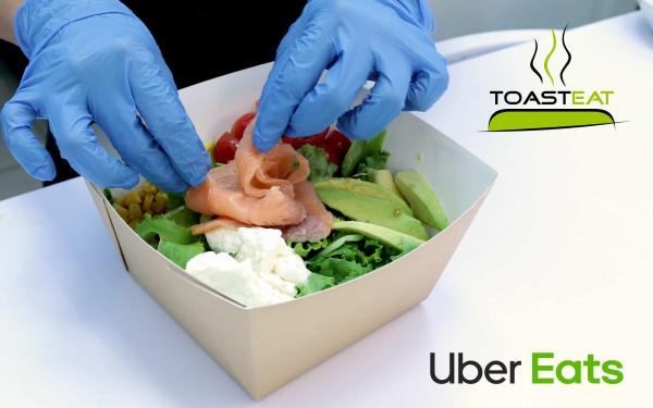 La qualità di ToastEat a casa tua con Uber Eats! Prossimamente disponibile